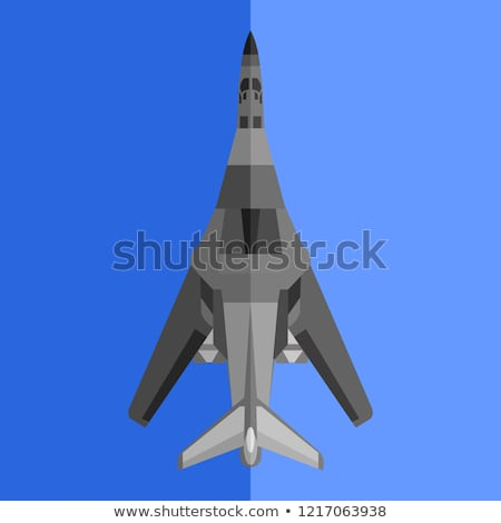 illustration · avion · ailes · bombe · arme · battant - photo stock © mechanik