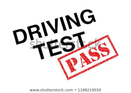 Passed Driving Test Foto d'archivio © chrisdorney