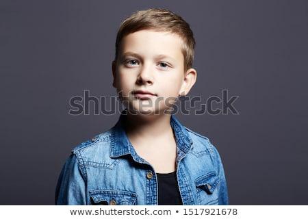 Portrait of a boy aged 10 years Stock photo © RuslanOmega