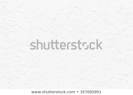 Branco estuque parede pormenor industrial Foto stock © homydesign