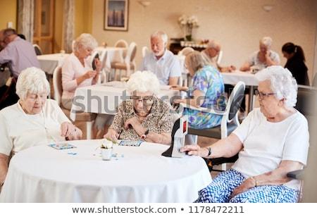Jogar bingo muitos números jogar fundo Foto stock © ivonnewierink