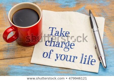 Take Charge Stock photo © Lightsource