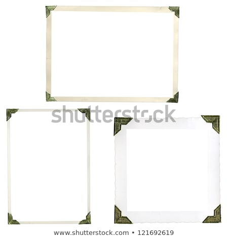 Old Photo Album with Clipping Path Stock photo © winterling
