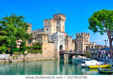 Kastély építészet történelem kapu villa Olaszország Stock fotó © Roka