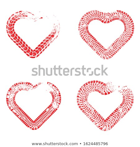 heart on mud stock photo © kawing921