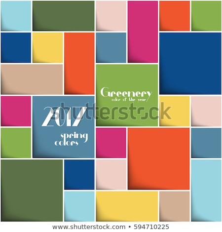 Coloré rectangle design gris Photo stock © limbi007