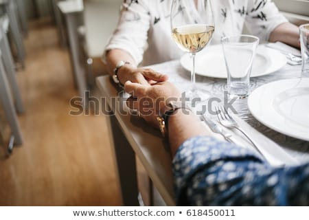 エレガントな · カップル · ワイングラス · パーティ · 男 - ストックフォト © zzve
