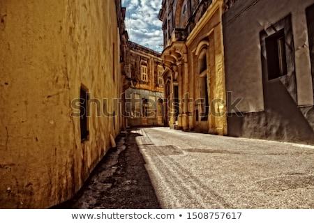 Windows · Malta · antigua · ciudad - foto stock © stokkete