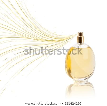parfüm · üveg · színes · vonalak · színes · ajándék - stock fotó © ra2studio