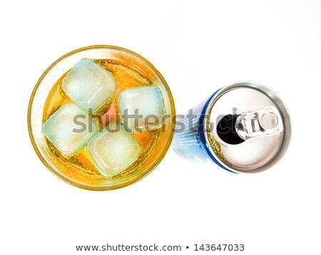 Energiaital konzerv tele üveg lövés fölött Stock fotó © SecretSilent