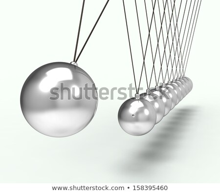 Newton Cradle Shows Energy And Action Stock photo © stuartmiles