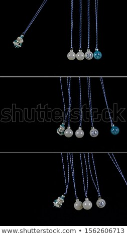Newton Cradle Showing Energy And Action Stock photo © stuartmiles