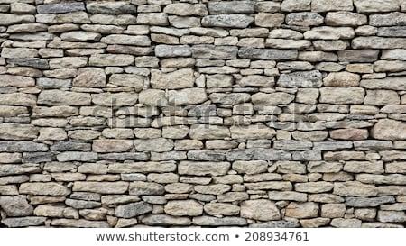Square Stone Rock Wall Stock photo © silkenphotography