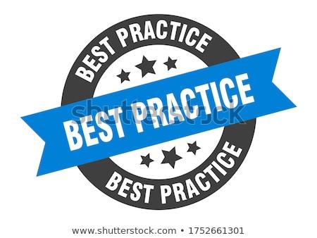 Best Practice. Vintage Background. Stock photo © tashatuvango