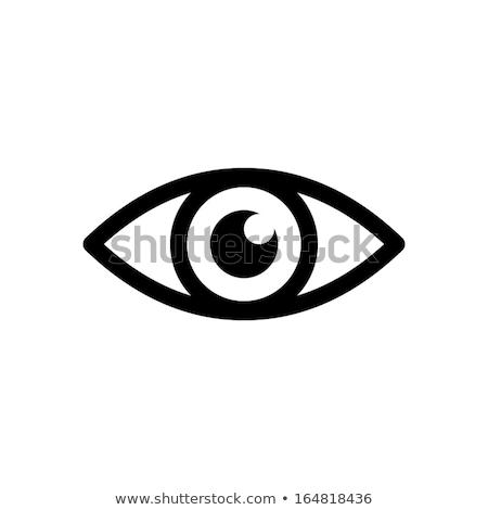 Vision eye icon Stock photo © shawlinmohd
