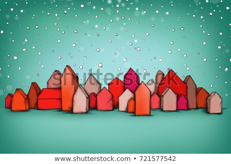 Small model house and calender Stock photo © monkey_business