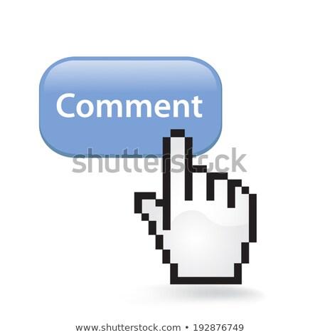 mano · cursor · 3D · imagen · aislado · blanco - foto stock © tashatuvango
