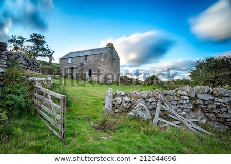 Broken Farm Building Stock photo © rghenry