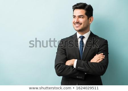 портрет · задумчивый · бизнесмен · бизнеса - Сток-фото © hasloo