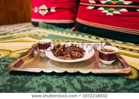 Piac Omán szín vásár arab muszlim Stock fotó © w20er