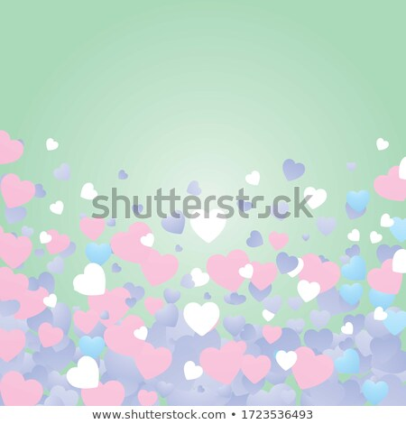 Heart shape of bokeh lights Stock photo © milsiart