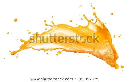 Sok pomarańczowy splash biały żywności owoców pomarańczowy Zdjęcia stock © kubais