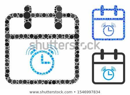 Inicio hasta insignias diferente colores metálico Foto stock © vipervxw