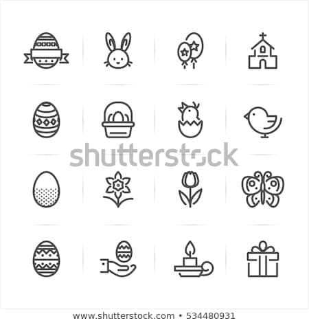 Celebration Easter Icons Stock photo © HelenStock