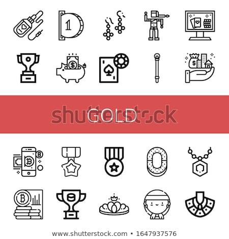 vektör · logo · kumbara · logo · tasarımı · şablon · iş - stok fotoğraf © nickylarson974