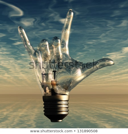 Bulb on rocks  Stock photo © bonathos