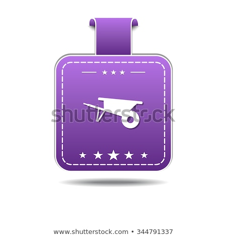 Trolly Violet Vector Icon Design Stock photo © rizwanali3d