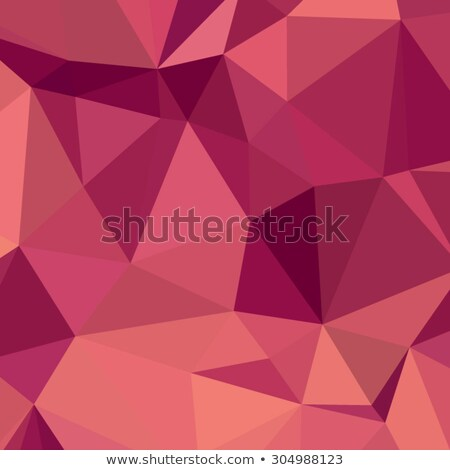 Deep Cerise Purple Abstract Low Polygon Background Stock photo © patrimonio