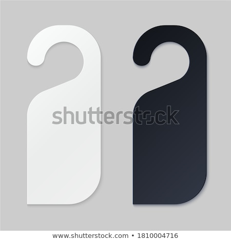 Hotel door sign Stock photo © giko