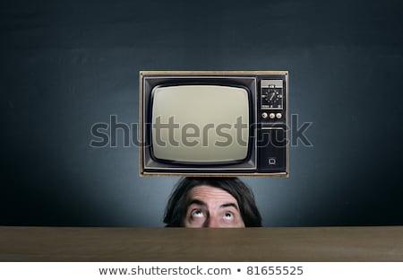 Retro tv plan Stock photo © FOTOYOU