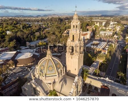 Torre cúpula parque San Diego Califórnia profundo Foto stock © feverpitch