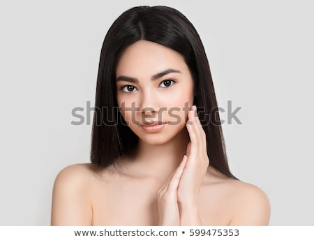 Kobieta model świeże codziennie makijaż glamour Zdjęcia stock © gromovataya