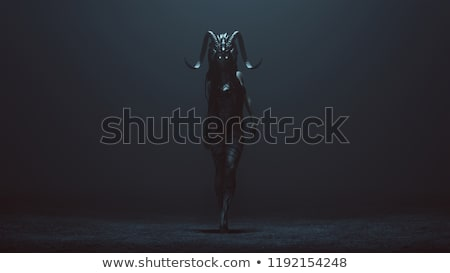 3D demon figure Stock photo © kjpargeter