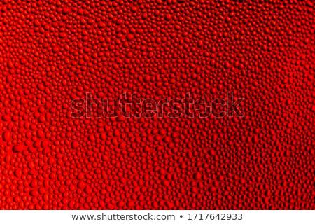 vermelho · sedoso · abstrato · escuro · tecido · ondas - foto stock © grafvision