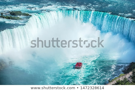 hoefijzer · rand · waterval · kant · Niagara · Falls · natuur - stockfoto © backyardproductions