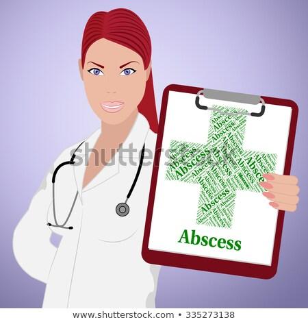 lever · ziekte · arme · gezondheid · kwaal · betekenis - stockfoto © stuartmiles