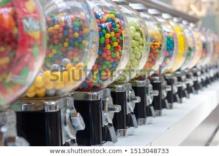 Automaat vector veelkleurig machine bubble munt Stockfoto © neelvi