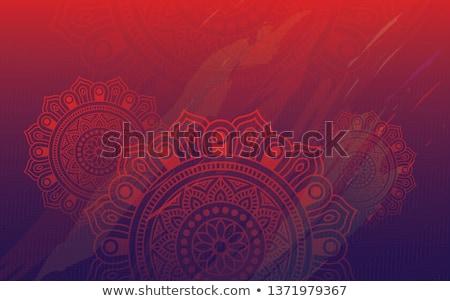 Abstract diwali colorato grunge lampada inchiostro Foto d'archivio © SArts