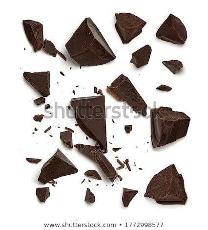 chocolat · plaisir · homme · pièce - photo stock © deandrobot
