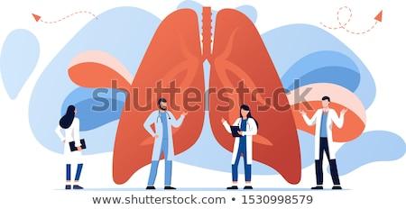 asthma banner stock photo © olena