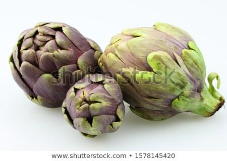 artichoke isolated on white background Stock photo © M-studio