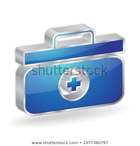 衛生兵 ボックス 3D ベクトル アイコン ストックフォト © rizwanali3d