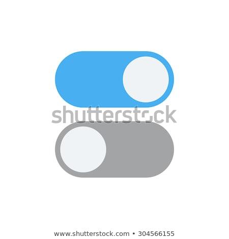 Poste stylisé sécurité lumière fond industrielle Photo stock © tracer