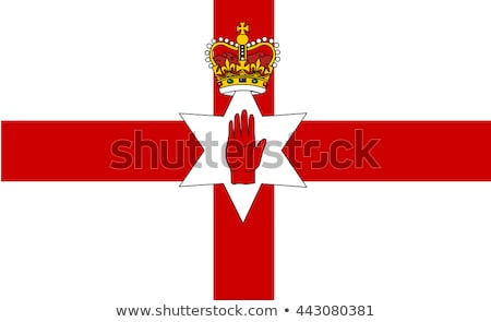 ireland economics vector illustration with ireland flag and business chart bar chart stock numbers stock photo © m_pavlov