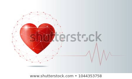 hartziekte · risico · symbool · gezondheidszorg · voeding · menselijke - stockfoto © lightsource