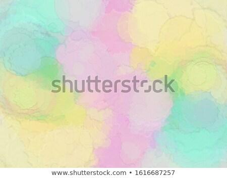 detailed green shade watercolor background Stock photo © SArts
